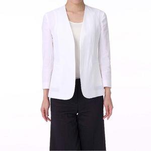 Theory Jackets & Coats - Theory Lindrayia Linen Blend Blazer